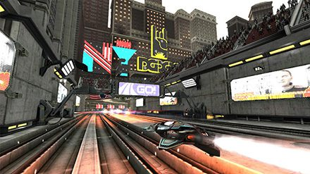 Graphics for WipEout 2048