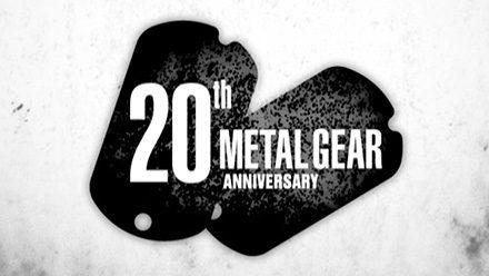 METAL GEAR 20th ANNIVERSARY