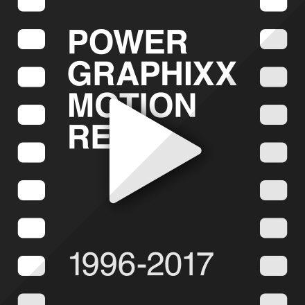 POWER GRAPHIXX Motion Reel 1996-2017